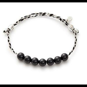 [ALEX & ANI] Onyx Precious Thread Bracelet